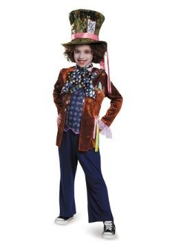 Disfraz infantil de Sombrerero Loco Deluxe