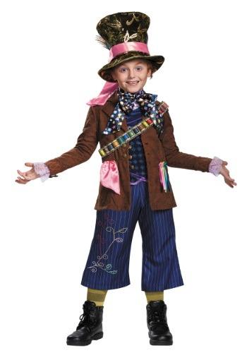 Disfraz infantil de Sombrerero Loco Prestige