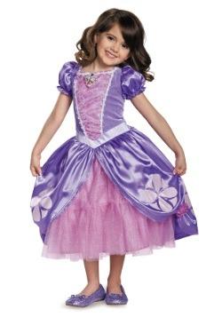 Vestido de lujo de Princesita Sofía para niñas