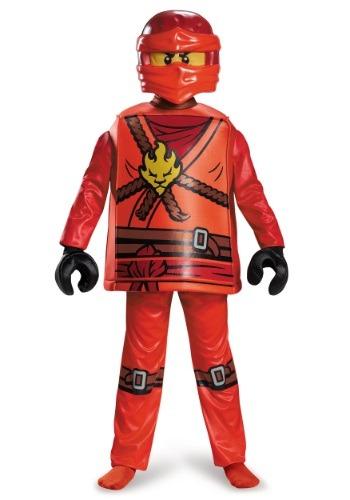 Disfraz Kai Ninjago Deluxe para niño