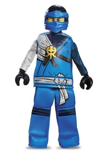Disfraz de Jay Ninjago Prestige para niño