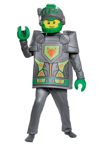 Disfraz Nexo Knights Aaron deluxe para niño