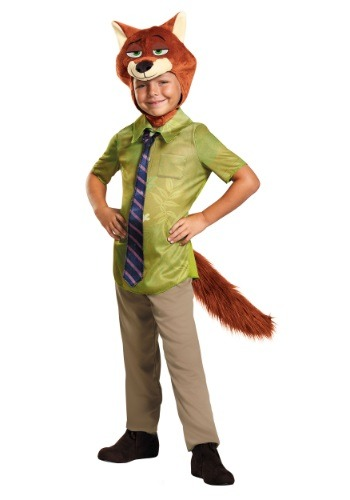 Disfraz de niño Nick Wilde Zootopia