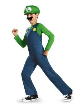 Disfraz de Luigi clásico para niño