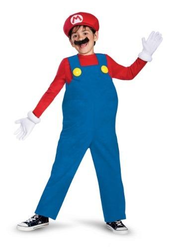 Disfraz de Mario deluxe para niño