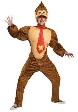 Disfraz de Donkey Kong Deluxe para adulto talla extra