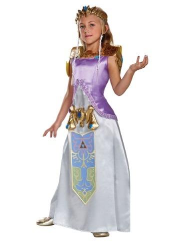 Disfraz infantil deluxe de Zelda