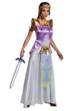 Disfraz de Zelda Deluxe para adulto