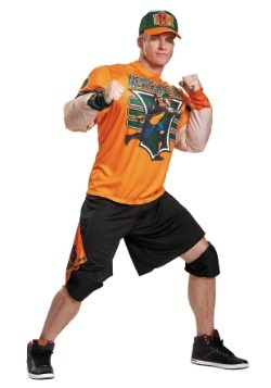 Disfraz musculoso de John Cena para adulto talla extra