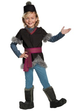 Disfraz infantil de Kristoff Deluxe de Frozen