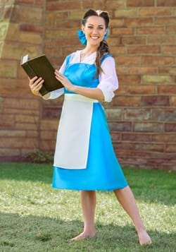 Vestido azul de Bella para adulto