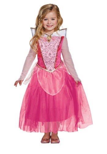 Disfraz de Aurora deluxe infantil