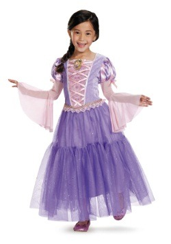 Disfraz infantil deluxe de Rapunzel
