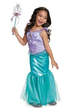 Disfraz infantil de Ariel deluxe