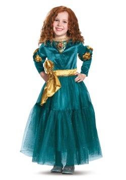 Disfraz infantil deluxe de Merida