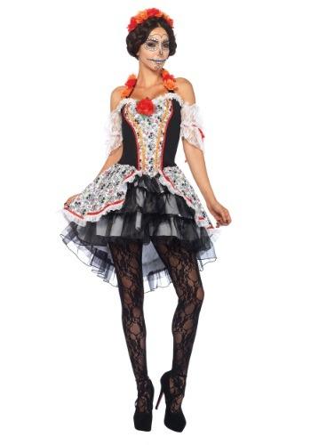Disfraz para mujer Señorita calavera de azúcar