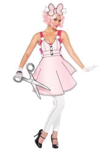 Disfraz para mujer Pretty Paper Doll