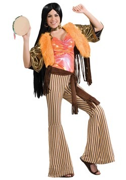 Disfraz de cantante de los 60 para mujer