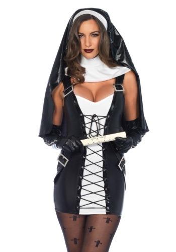 Disfraz para mujer de monja traviesa