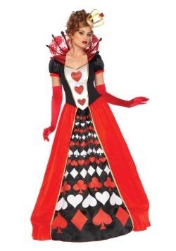 Disfraz deluxe de Reina de Corazones para mujer