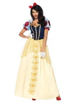 Disfraz de Blancanieves deluxe para mujer