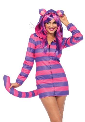 Disfraz para mujer gato Cheshire mimoso