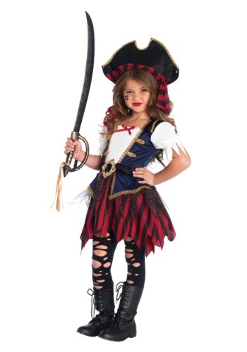 Disfraz de pirata del caribe para niña