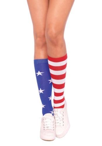 Calcetines de bandera estadounidense