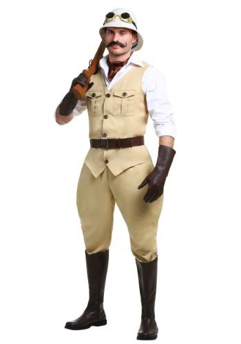 Disfraz de Safari Hunter talla grande para hombre