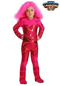 Disfraz de Lavagirl para niños pequeños