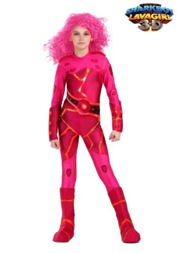 Disfraz de Lavagirl para niñas