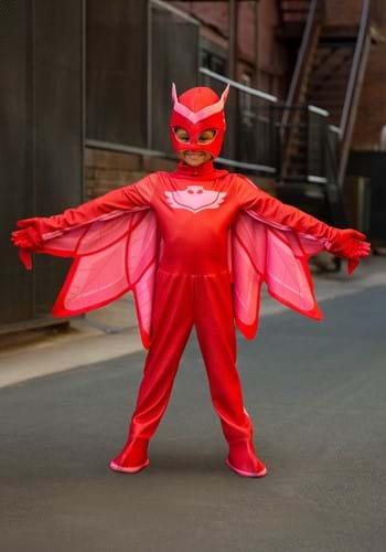Deluxe PJ Masks Disfraz de Owlette