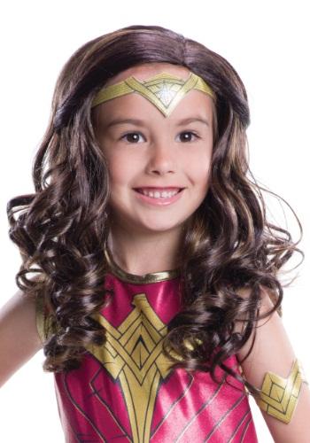 Peluca de la Mujer Maravilla Dawn of Justice para niños