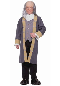 Disfraz infantil de Benjamin Franklin
