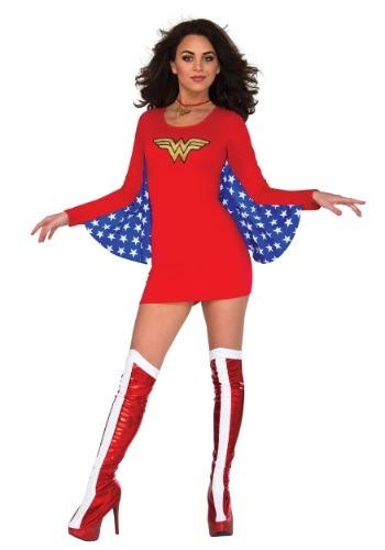 DC Mujer Maravilla Vestido con capa
