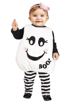 ¡Baby Boo! para niños pequeños Disfraz de fantasma