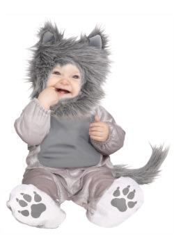 Traje de lobo Lil 'Wolf Cub niño / niño