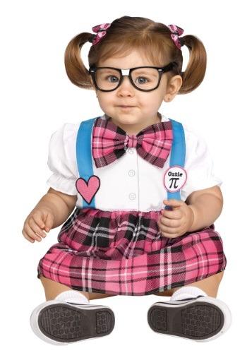 Disfraz Nerd Cutie Pi para niños pequeños