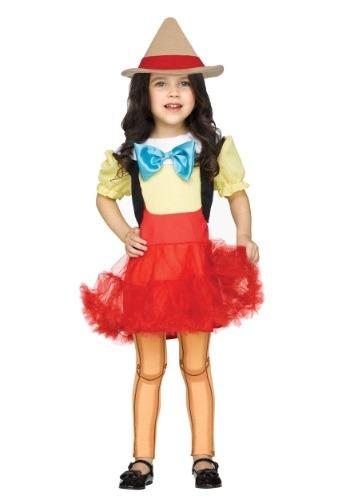 Disfraz de niña de madera para niños pequeños
