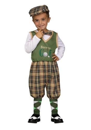 Disfraz de pequeño golfista para niños pequeños