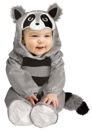 Disfraz de mapache bebé