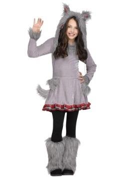 Disfraz para niña de cachorro lobo