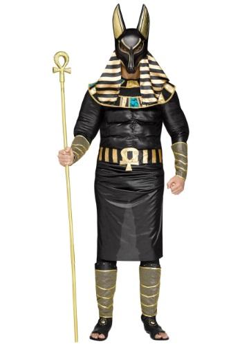 Disfraz de Anubis talla grande para hombre
