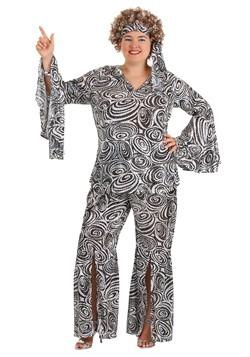 Disfraz Foxy Lady Disco para mujer talla extra
