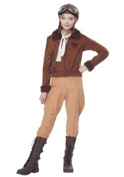 Disfraz de niña Amelia Earhart/aviadora