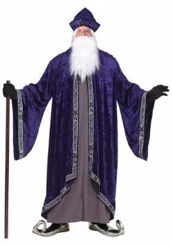 Disfraz de gran mago talla grande