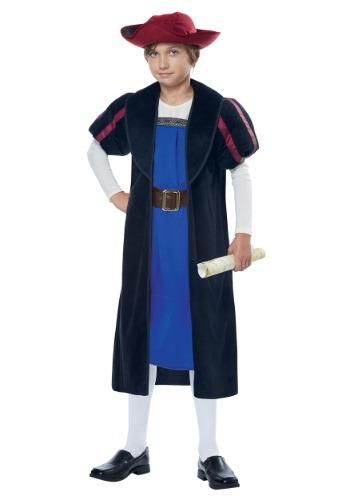Disfraz infantil de Cristobal Colón/Explorador