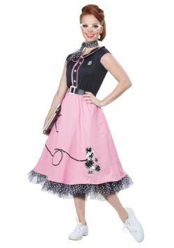 Disfraz de chica linda de los años 50 para adulto