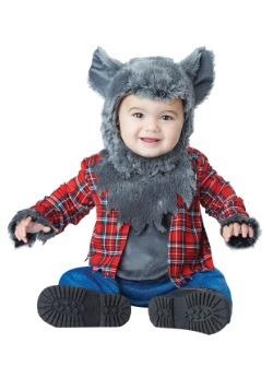 Disfraz de hombre lobo pequeño para bebé