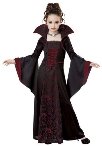 Disfraz infantil de vampiro real